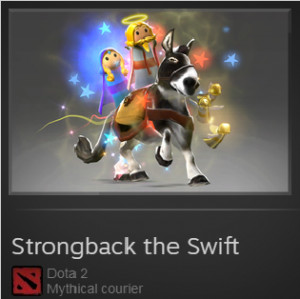 Strongback the Swift (Courier)