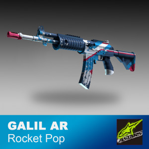 Galil AR | Rocket Pop (Field tested)