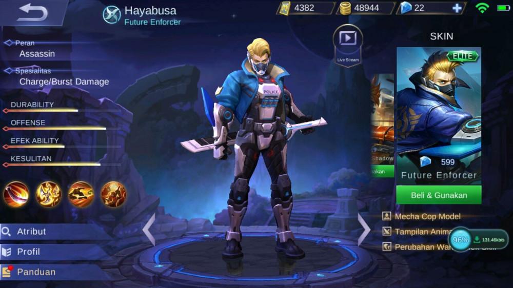 Future Enforcer (Elite Skin Hayabusa)