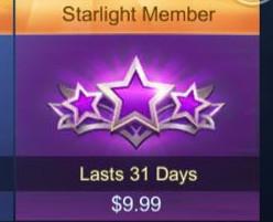 (iOS&Android) Starlight Membership