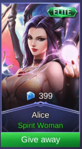 Spirit Woman (Elite Skin Alice)