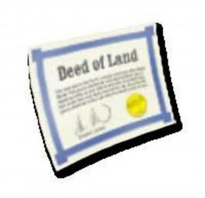 Akta tanah / Land Deed
