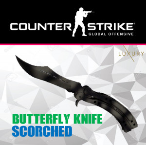 Butterfly Knife | Scorched