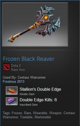 Frozen Black Reaver (Centaur Warrunner)