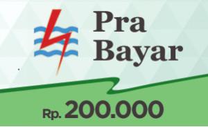 Token PLN Prabayar 200.000
