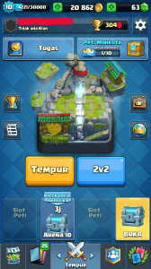 Legendary 9. Arena 10. Level 10.
