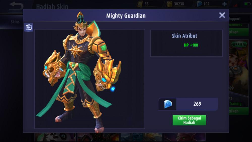 Mighty Guardian (Elite Skin Gatotkaca)