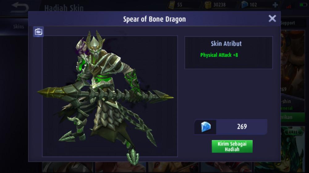 Spear of Bone Dragon (Skin Moskov)