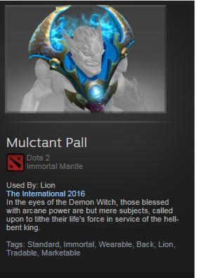 Mulctant Pall (Immortal Lion)
