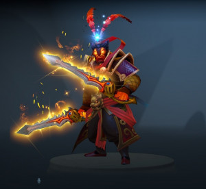 Genuine Rapier of the Burning God Sepasang