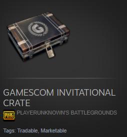 Gamescom Invitational Crate